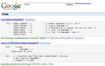 Code Search Google