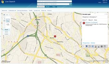 Microsoft Map-Search