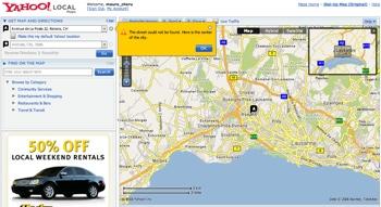 Yahoo Map-Search